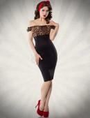 Облегающее ретро-платье (105175) - foto