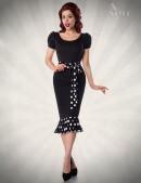 Платье-годе в стиле Ретро (105182) - foto
