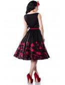 Платье Pin-up с цветочным узором (105187) - оригинальная одежда, 2
