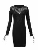 Платье с кружевом (105211) - 3, 8