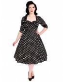 Платье в горох в стиле 50-х UF5216 (105216) - цена, 4