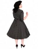 Платье в горох в стиле 50-х UF5216 (105216) - 3, 8