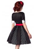 Ретро-платье с коротким рукавом (105180) - оригинальная одежда, 2