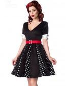 Ретро-платье с коротким рукавом (105180) - цена, 4