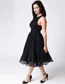 Ретро-платье в стиле 40-х XTC220 (105220) - материал, 6