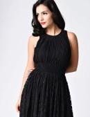 Ретро-платье в стиле 40-х XTC220 (105220) - цена, 4