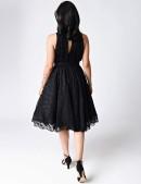 Ретро-платье в стиле 40-х XTC220 (105220) - оригинальная одежда, 2