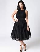 Ретро-платье в стиле 40-х XTC220 (105220) - 3, 8