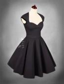 Винтажное платье в стиле 50-х (105049) - foto