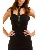 Облегающее платье с декольте и воротником X-Style (105114) - цена, 4
