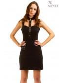 Облегающее платье с декольте и воротником X-Style (105114) - foto