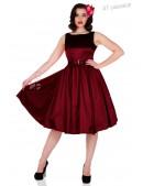 Платье в стиле Ретро с поясом XC336 (105336) - foto