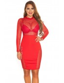 Облегающее красное платье KouCla (105380) - 3, 8