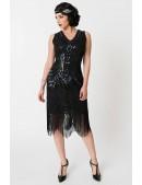 Платье в стиле 20-х XC5384 (105384) - цена, 4