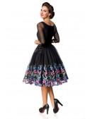 Винтажное платье с вышитой юбкой (105388) - оригинальная одежда, 2
