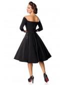 Винтажное черное платье Belsira (105389) - цена, 4