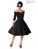 Винтажное черное платье Belsira (105389) - foto