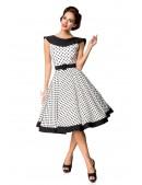 Винтажное платье в горошек B5390 (105390) - оригинальная одежда, 2