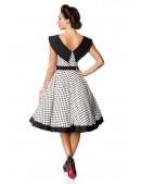 Винтажное платье в горошек B5390 (105390) - цена, 4