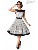 Винтажное платье в горошек B5390 (105390) - foto
