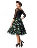 Винтажное вечернее платье с вышивкой B5391 (105391) - оригинальная одежда, 2
