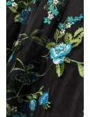 Винтажное вечернее платье с вышивкой B5391 (105391) - материал, 6