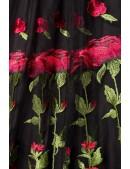 Винтажное платье с вышивкой на юбке Belsira (105396) - материал, 6