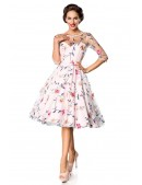 Винтажное платье с вышитыми цветами Belsira (105402) - цена, 4