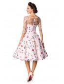 Винтажное платье с вышитыми цветами Belsira (105402) - материал, 6