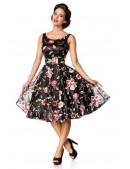 Платье Ретро с вышитыми цветами Belsira (105404) - оригинальная одежда, 2