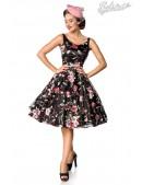Платье Ретро с вышитыми цветами Belsira (105404) - foto