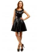 Платье клеш под латекс X-Style (105410) - 3, 8
