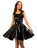 Платье клеш под латекс X-Style (105410) - оригинальная одежда, 2