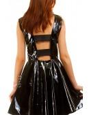 Платье клеш под латекс X-Style (105410) - цена, 4