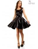 Платье клеш под латекс X-Style (105410) - foto
