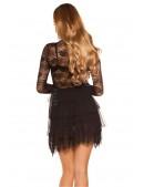 Откровенное ажурное платье MF5411 (105411) - оригинальная одежда, 2