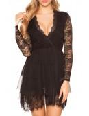Откровенное ажурное платье MF5411 (105411) - 5, 12