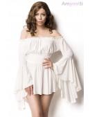 Белое платье-туника Amynetti (165002) - foto