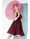Платье в стиле Ретро с поясом XC336 (105336) - оригинальная одежда, 2