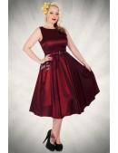 Платье в стиле Ретро с поясом XC336 (105336) - цена, 4