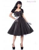 Платье Rockabilly с болеро и поясом (105337) - foto