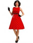 Платье Charlyne с поясом (105344) - foto