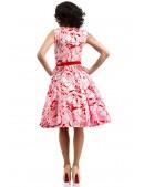 Летнее платье с цветочным узором X5349 (105349) - оригинальная одежда, 2
