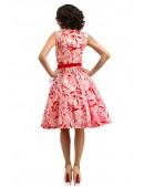 Летнее платье с цветочным узором X5349 (105349) - цена, 4