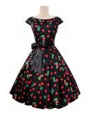 Платье Рокабилли с карманами и поясом (105356) - цена, 4