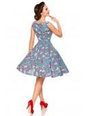 Платье с винтажным рисунком Belsira (105357) - оригинальная одежда, 2