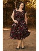 Платье Рокабилли 2XL-4XL (105900) - 3, 8