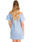 Летнее платье из голубого денима ME359 (105359) - 4, 10