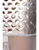 Серебристый комплект: топ и юбка с чешуйками (118040) - цена, 4