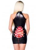 Блестящее платье с откровенным вырезом (127155) - цена, 4